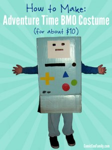 How to Make Adventure Time BMO Costume