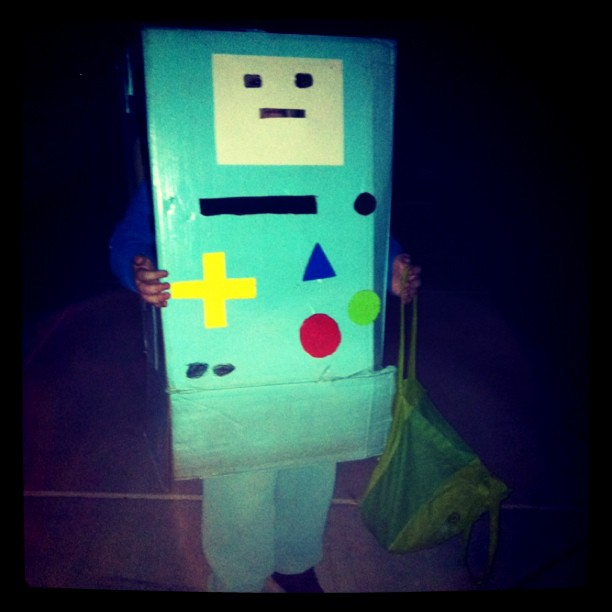 How to Make an Adventure Time BMO Costume