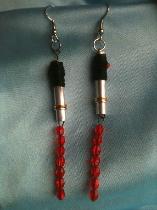 Star Wars Light Saber Earrings by Instructables