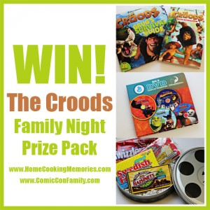 The Croods Family Fun Giveaway