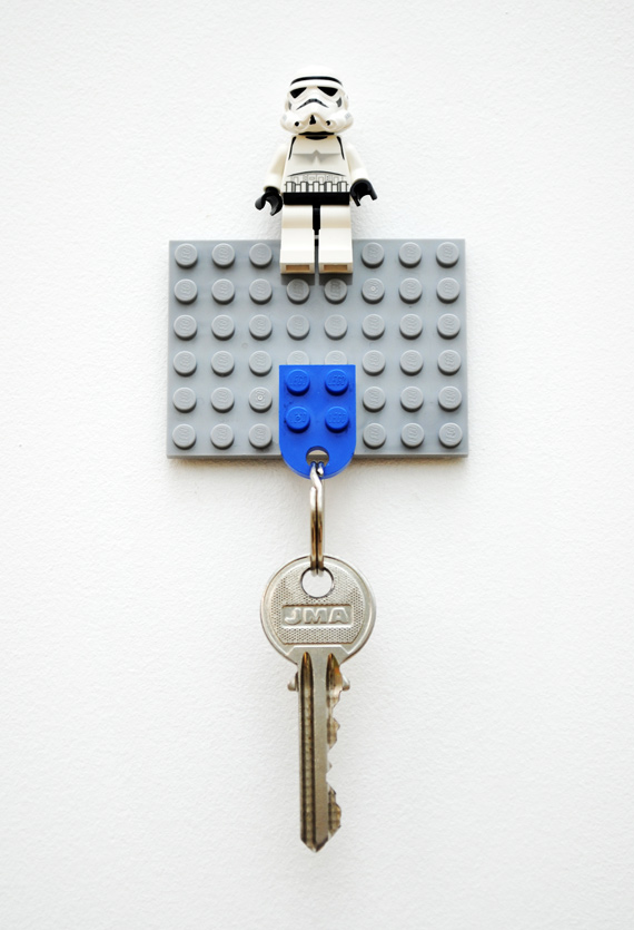 DIY Lego Key Holder by Minieco.co.uk