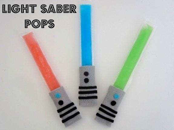 Light Saber Pops by Pretty Providence