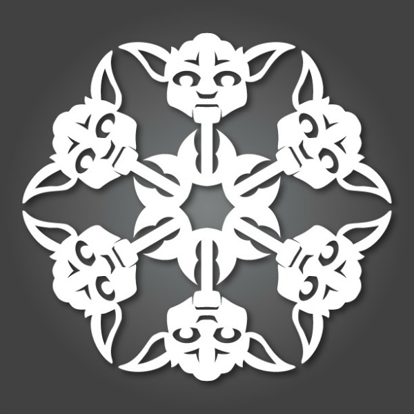 DIY Star War SnowFlakes by MattersofGrey