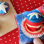 Marvel Superhero Cupcake Ideas: Captain America Shield