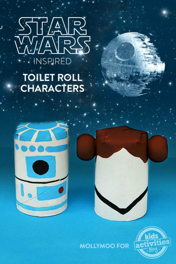 Star Wars Toilet Roll Characters by kids activities blog
