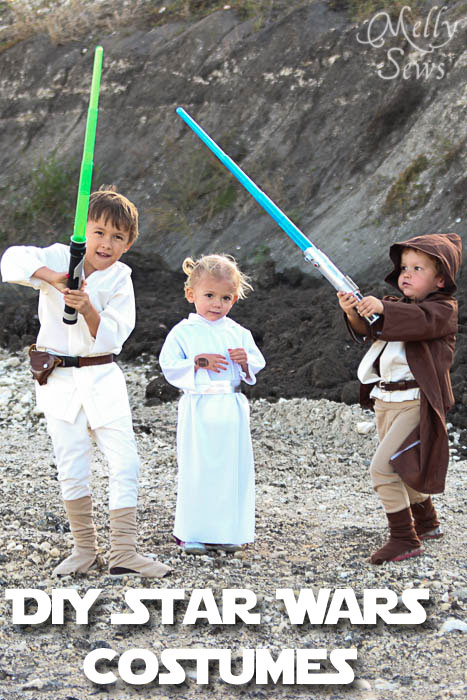 DIY Star Wars Costumes by Melly Sews