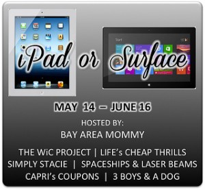 iPad or Surface Tablet GIVEAWAY!