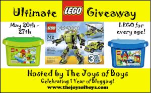 Ultimate LEGO Giveaway!