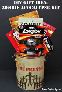DIY Gift Idea: Zombie Apocalypse Kit + Free Printable