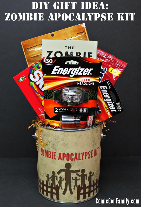 DIY Gift Idea: Zombie Apocalypse Kit + Free Printable