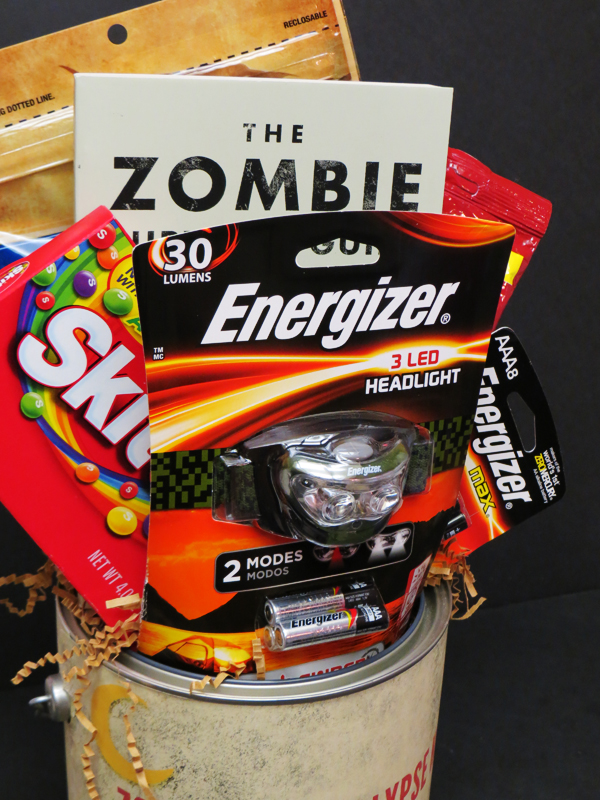 DIY Gift Idea: Zombie Apocalypse Kit + Free Printable - Comic Con ...
