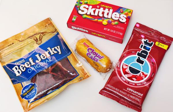 Zombie Apocalypse Kit Snacks
