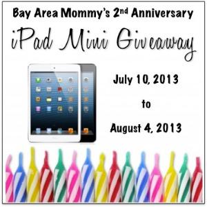 iPad Mini Giveaway! (ends 8/4)