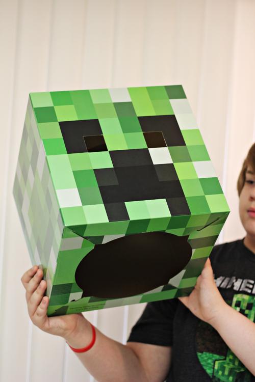 Minecraft Creeper Mask for Comic-Con