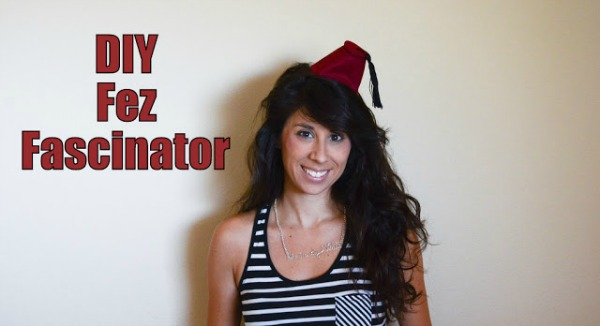 DIY Doctor Who Fez Fascinator