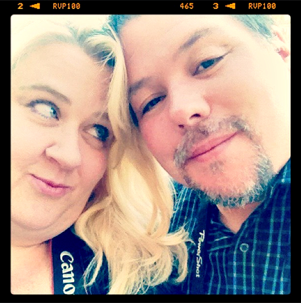 David and Brandie at Comic Con Family