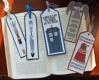 Doctor Who Bookmarks