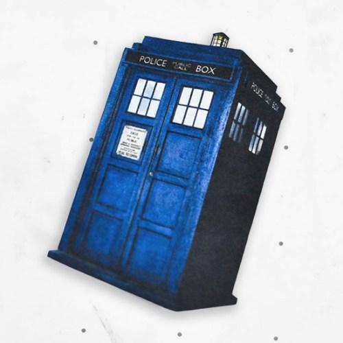 DIY TARDIS Magnet