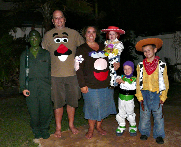 toy story halloween costume 2009