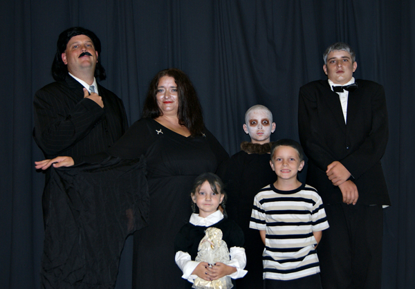 Addams Family Halloween Costume (2011)