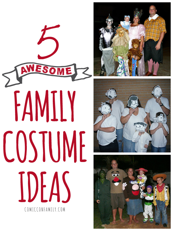 5 Family Costume Ideas for Halloween or Cosplay