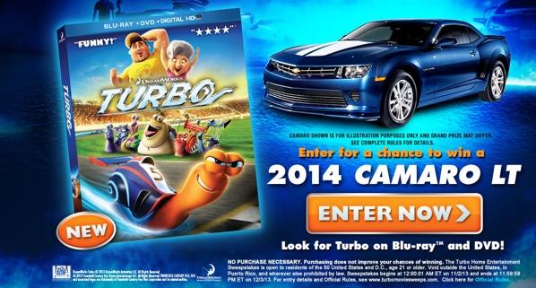 DreamWorks Turbo Racing League Sweepstakes