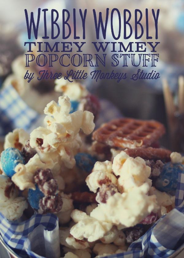 Wibbly Wobbly Timey Wimey Popcorn Stuff
