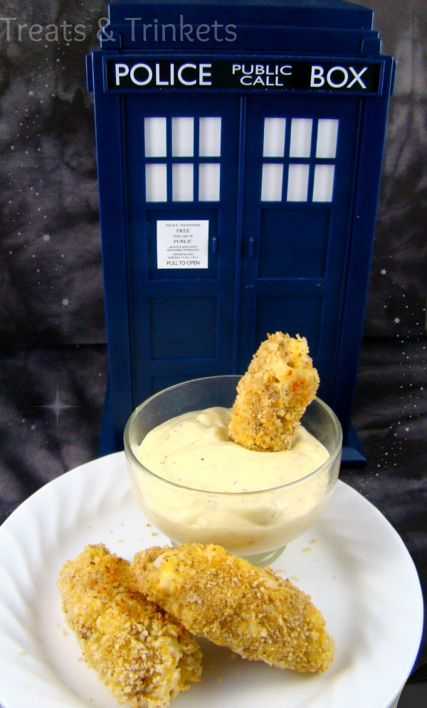 Fish Finger Cookies and Custard
