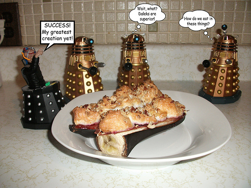 Davros' Extermination Pudding
