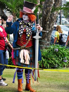 Alice in Wonderland - Mad Hatter at Comic-Con 2011