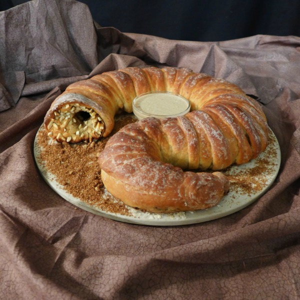 Doctor Who Sandworm Bread