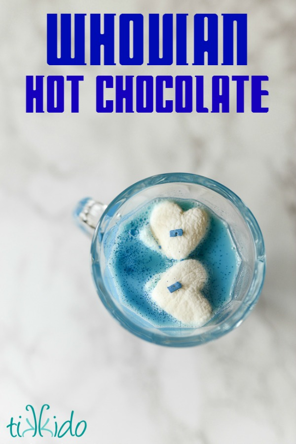 Whovian Hot Chocolate