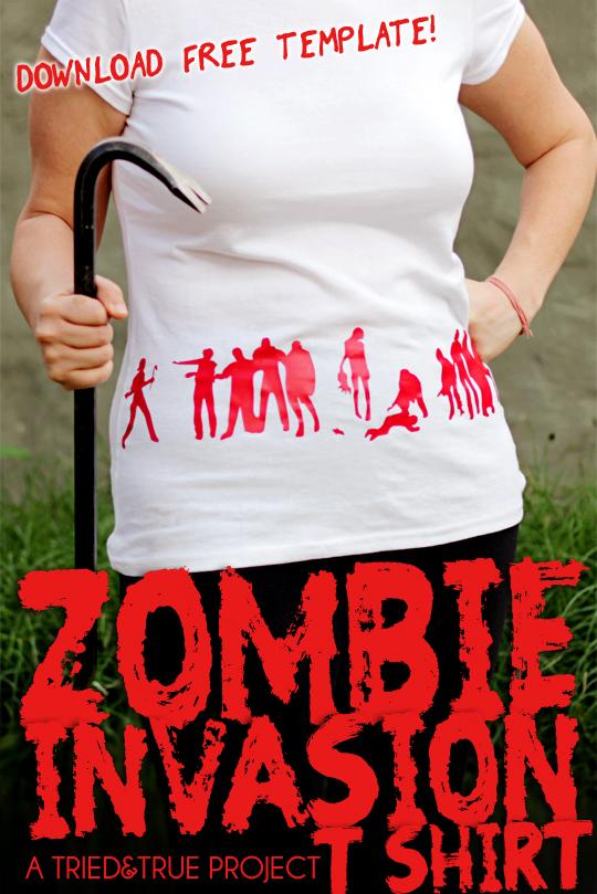 zombie t - shirt