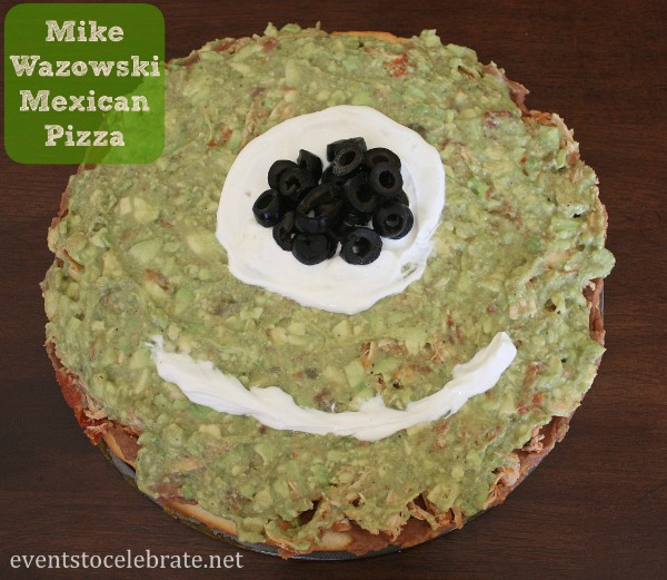 monster university mexican pizza