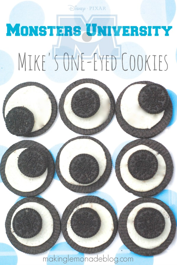 monster university one eyed cookies