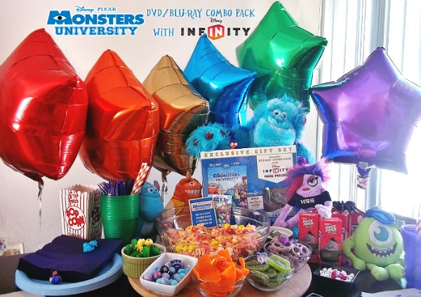 monster u scare party