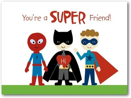 15 Pop Culture Valentines Day Cards for Kids Comic Con Family – Valentine Cards for a Friend