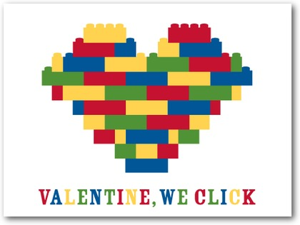 """We Click"" Valentine Cards (sold in multiples)"