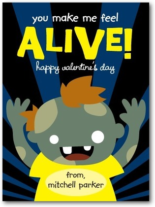 Zombie Fun Valentine Card