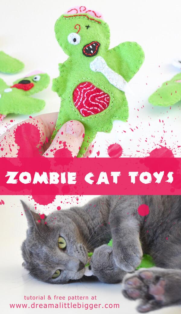 Zombie Cat Toys