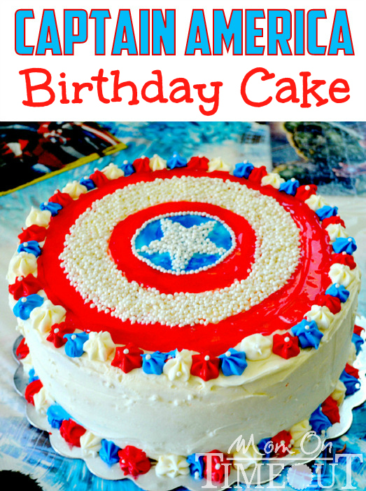 25 Diy Captain America Party Foods Do It Yourself