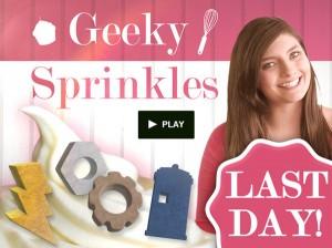 Love Baking? Back the Geeky Sprinkles kickstarter!