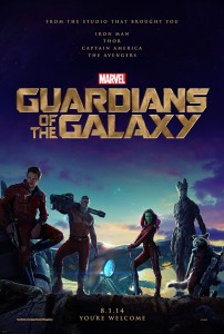 Marvel Guardians of the Galaxy - Movie Poster