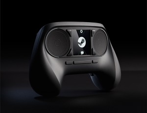 Steam Controller by Valve, as seen at CES 2014
