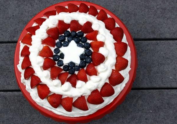 Captain America Cake