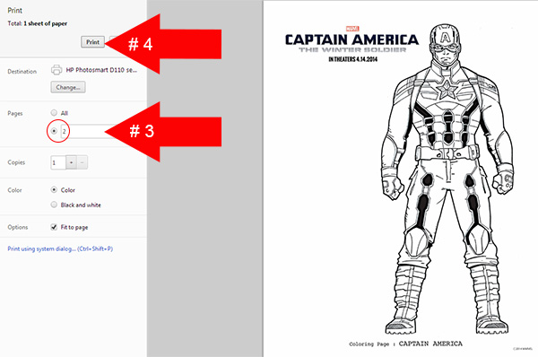 Free Printables How to Print Only 1 Page of a PDF file  Comic