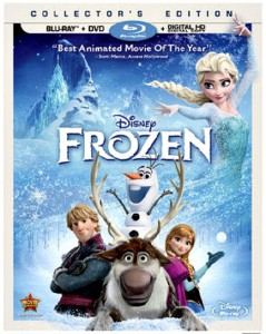 Disney Frozen Blu-ray + DVD Giveaway!