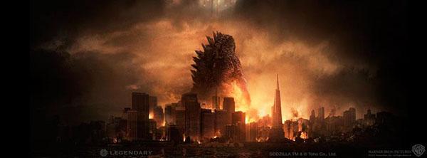 Godzilla Interactive Display at Comic-Con 2014