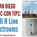 San Diego Comic-Con Tips: Hall H Line Restrooms #sdcc