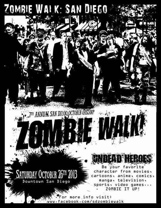 zombie walk - san diego